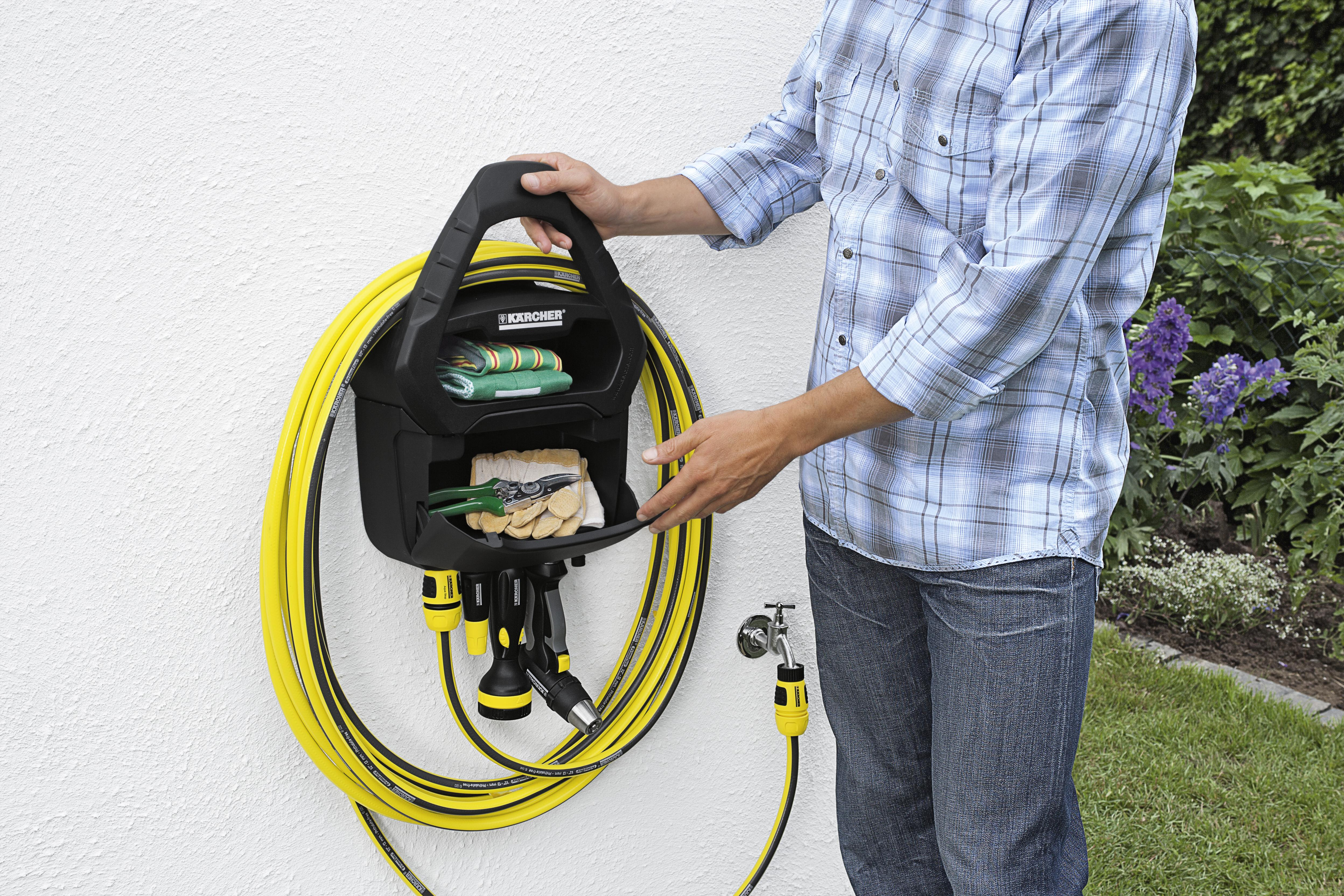 Garden Hose Storage Solutions: Premium Hose Pipe Hanger With Box