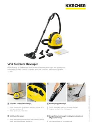 Kärcher VC 6 Premium støvsuger | Kärcher Danmark