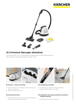 Støvsuger VC 6 Premium Støvsuger (Homeline) | Kärcher Danmark