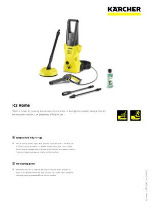 K2 Home | Kärcher UK