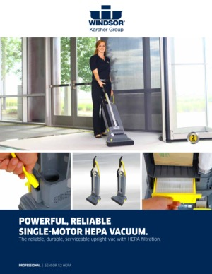 Upright CleanerHepa S2 Commercial Vacuum FilterWindsor Sensor IYb7yvmg6f