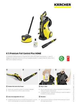 K5 Premium Full Control Plus Home Karcher