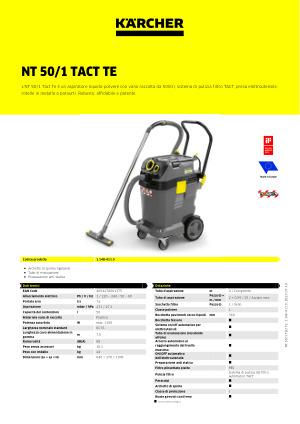 lucidante NT 45//1 Tact lamelle filtro FILTRO aria per Kärcher NT 55//1 Tact