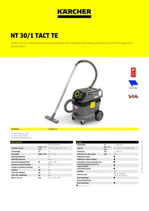 Støvsuger Karcher NT 301 Tact Te L 1.148 211.0