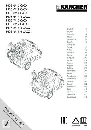 Hochdruckreiniger Hds 818 4 C Kärcher