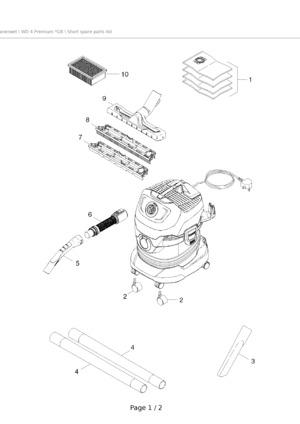 Multi Purpose Vacuum Cleaner Wd 4 Premium