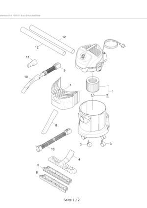 Mehrzwecksauger Wd 3 P Extension Kit Kärcher