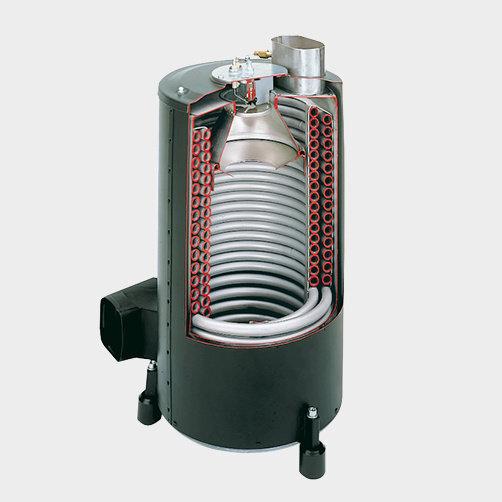 Vysokotlaký čistič HDS 12/14-4 ST: Technika hořáku
