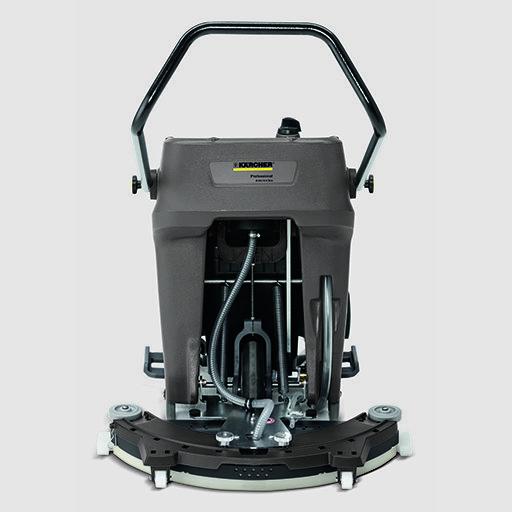 Súroló-szívógép B 60/10 C: Elektromosság nélkül működik