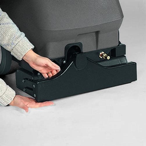 Carpet cleaner BRC 38/30 C: Good suction