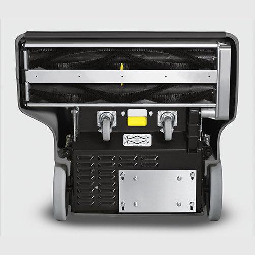 Щеточный пылесос CV 66/2: Система роликовых щеток противоположного вращения
