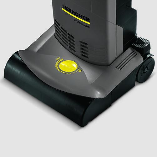 Upright brush-type vacuum cleaner CV 30/1: Manual brush roller adjustment