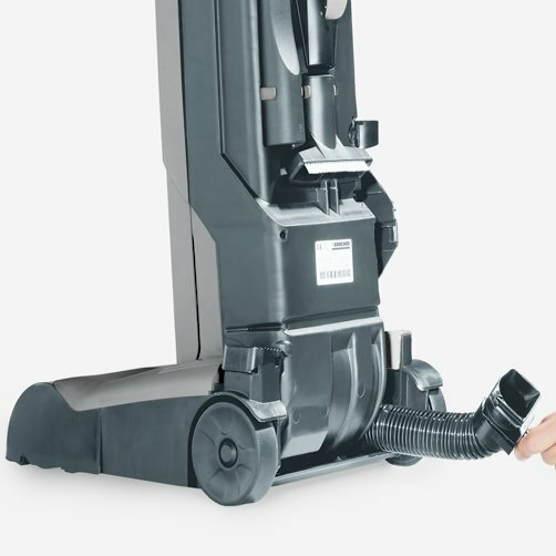 Upright brush-type vacuum cleaner CV 30/1: Excellent cleaning