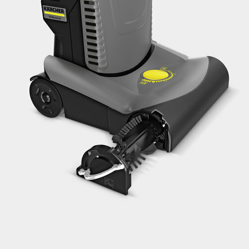 Upright brush-type vacuum cleaner CV 30/1: Brush replacement without tools