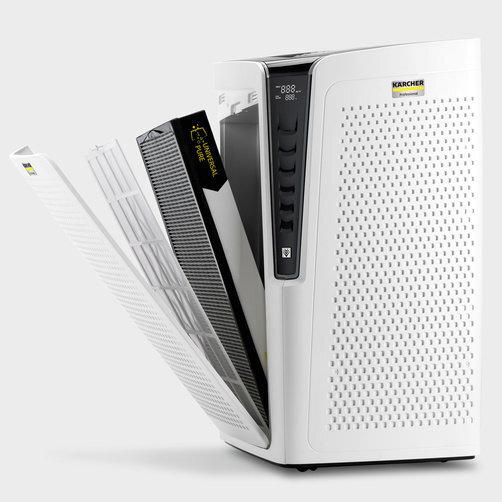 Air Purifier  AF 100: Päť filtračných vložiek na rôzne použitie