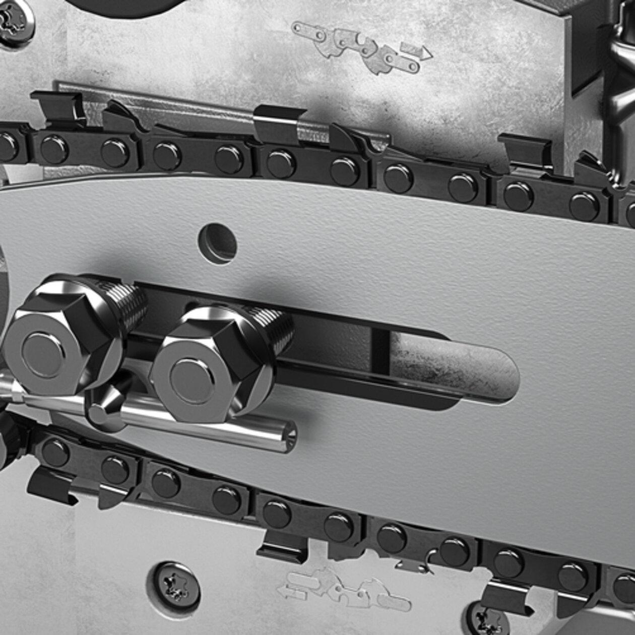 CS 400/36 Bp pack: Automatické mazanie reťaze
