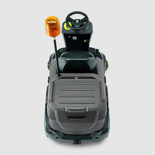 KM 90/60 R G Adv: Diseño robusto y compacto con superficie de carga