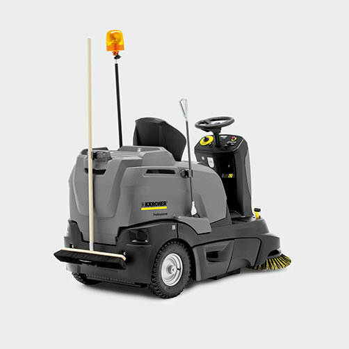Vacuum sweeper KM 90/60 R Bp Advanced: Cleaning tool kit base for greater flexibility
