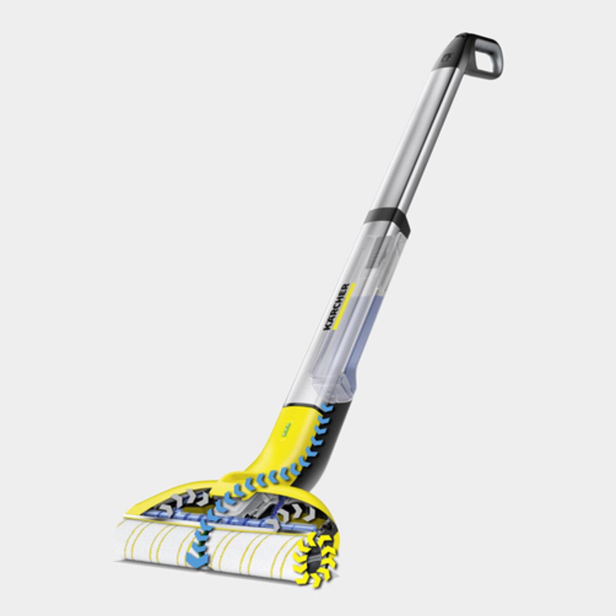 Поломойная машина для дома FC 3 Cordless: На 20 %* чище и значительно комфортнее, чем при уборке шваброй