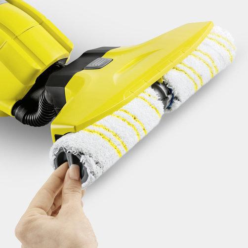 Поломойная машина для дома FC 5: Высококачественные микроволоконные роликовые щетки