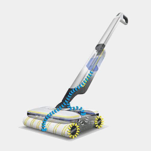 Поломойная машина для дома FC 7 Cordless Premium: На 20 %* чище и значительно комфортнее, чем при уборке шваброй
