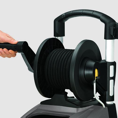 Magasnyomású mosó HDS 5/11 UX: Beépített tömlődob