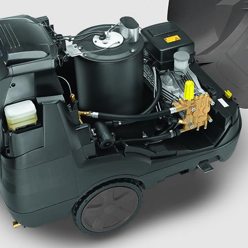 Аппарат высокого давления HDS 13/20-4 S: Высокая экономичность