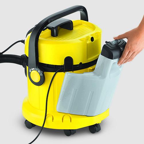 Lava-aspirador SE 4002: Depósito de agua limpia desmontable