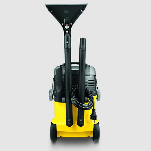 Tepovač-extraktor SE 5.100: Praktické odkladanie príslušenstva