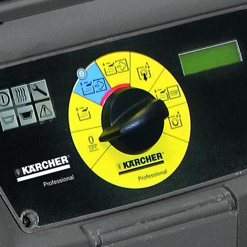 Limpiadoras de vapo SGV 6/5: Especialmente fácil de manejar gracias a EASY-Operation