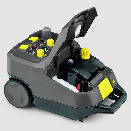Steam cleaner SG 4/4: Accessory storage compartment