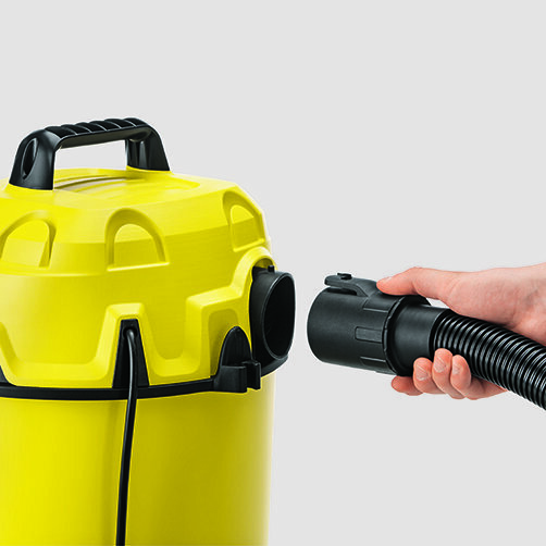 Multi-purpose vacuum cleaner WD 1: Practical blower function