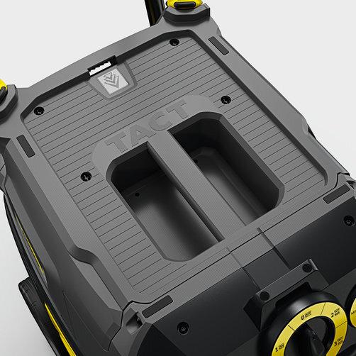 Mokro-suchý vysavač NT 40/1 Tact Te*EU: Odkládání kufru na nářadí a možnosti upevnění