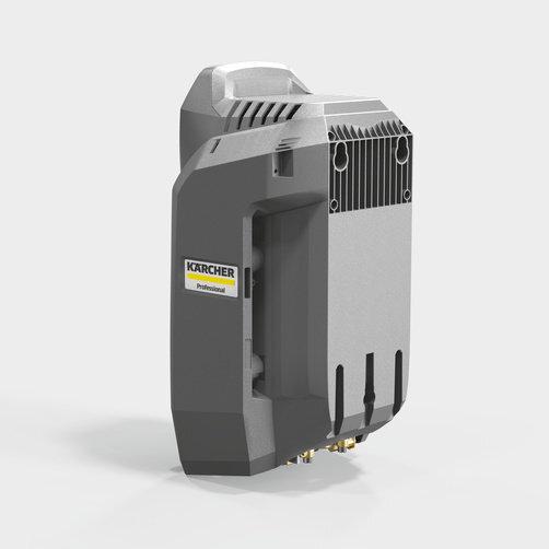 Аппарат высокого давления HD 8/18-4 M Pu: Подготовка к станционарному применению