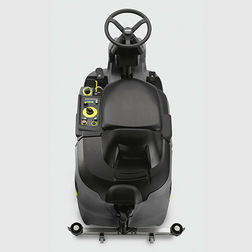 Ride-on floor scrubber B 90 R Adv Bp: Extremely easy to manoeuvre