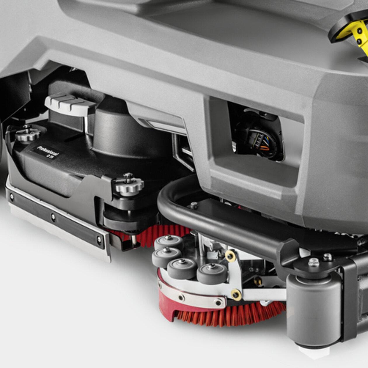 Schrob-/zuigmachine B 110 R Bp Pack 170Ah+Dose+SSD+FleetEU+R75: Tijd- en kostenbesparend zijschrobdek
