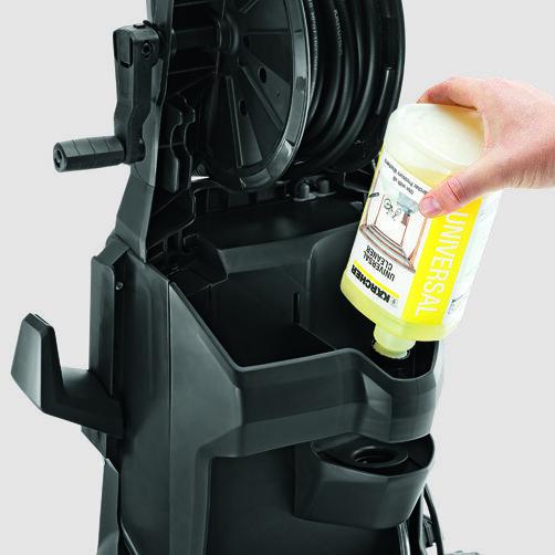 Мини-мойка K 5: Система забора химии Plug 'n' Clean