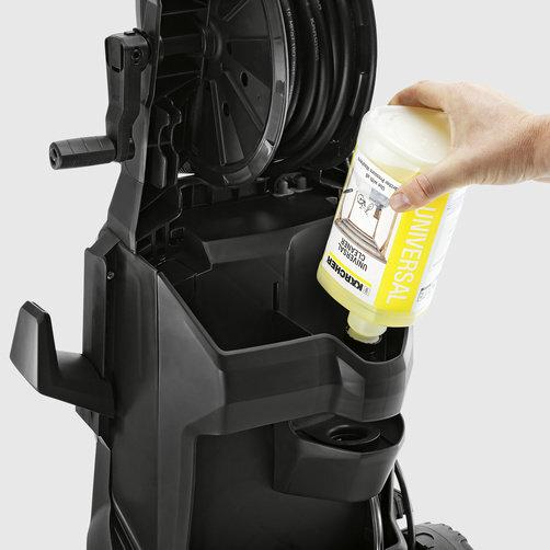 Мини-мойка K 4: Система забора химии Plug 'n' Clean