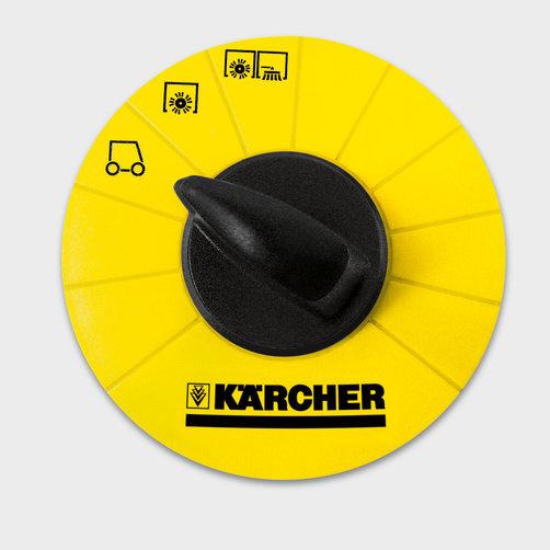 Vacuum sweeper KM 130/300 R D: Outstanding user-friendliness