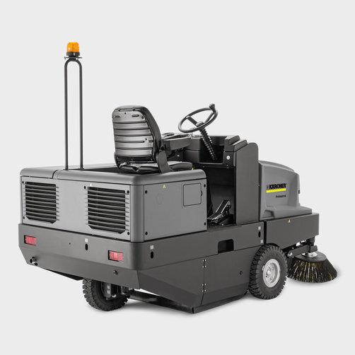 KM 150/500 R D Classic: Tracción hidráulica en las ruedas traseras con neumáticos de goma maciza