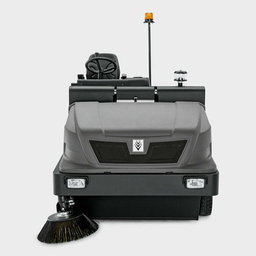 Vacuum sweeper KM 150/500 R D Classic: Robust steel chassis with multiple corrosion protection