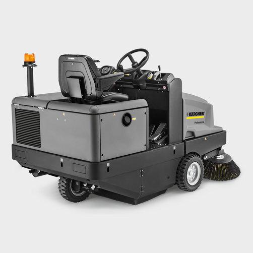 Varredeira com Aspiração KM 130/300 R Diesel: Chassi de aço robusto com proteção contra corrosão