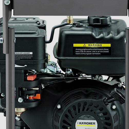 Аппарат высокого давления HD 8/23 G Classic: Продуманное хранение принадлежностей