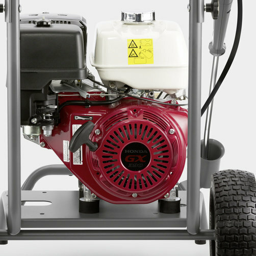High Pressure Cleaner HD 7/15 G: Maximum independence