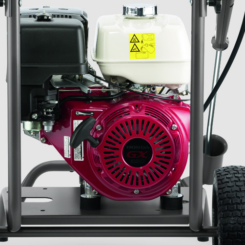 High Pressure Cleaner HD 8/20 G: Maximum independence