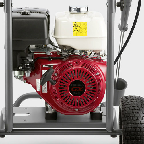 High Pressure Cleaner HD 9/23 G: Maximum independence