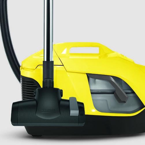 Máy húi bụi với bộ lọc nước DS 6: Chức năng khóa bánh xe