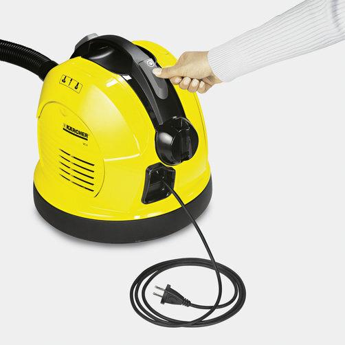 Пылесос VC 6: Автоматическая смотка кабеля