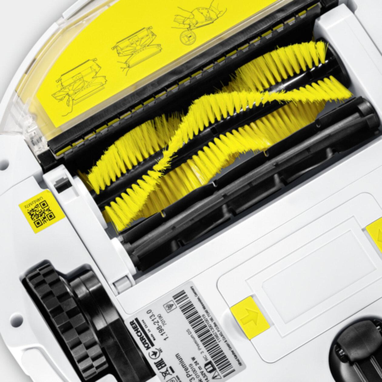 Робот-пылесос RC 3 (белый): Высокая производительность уборки