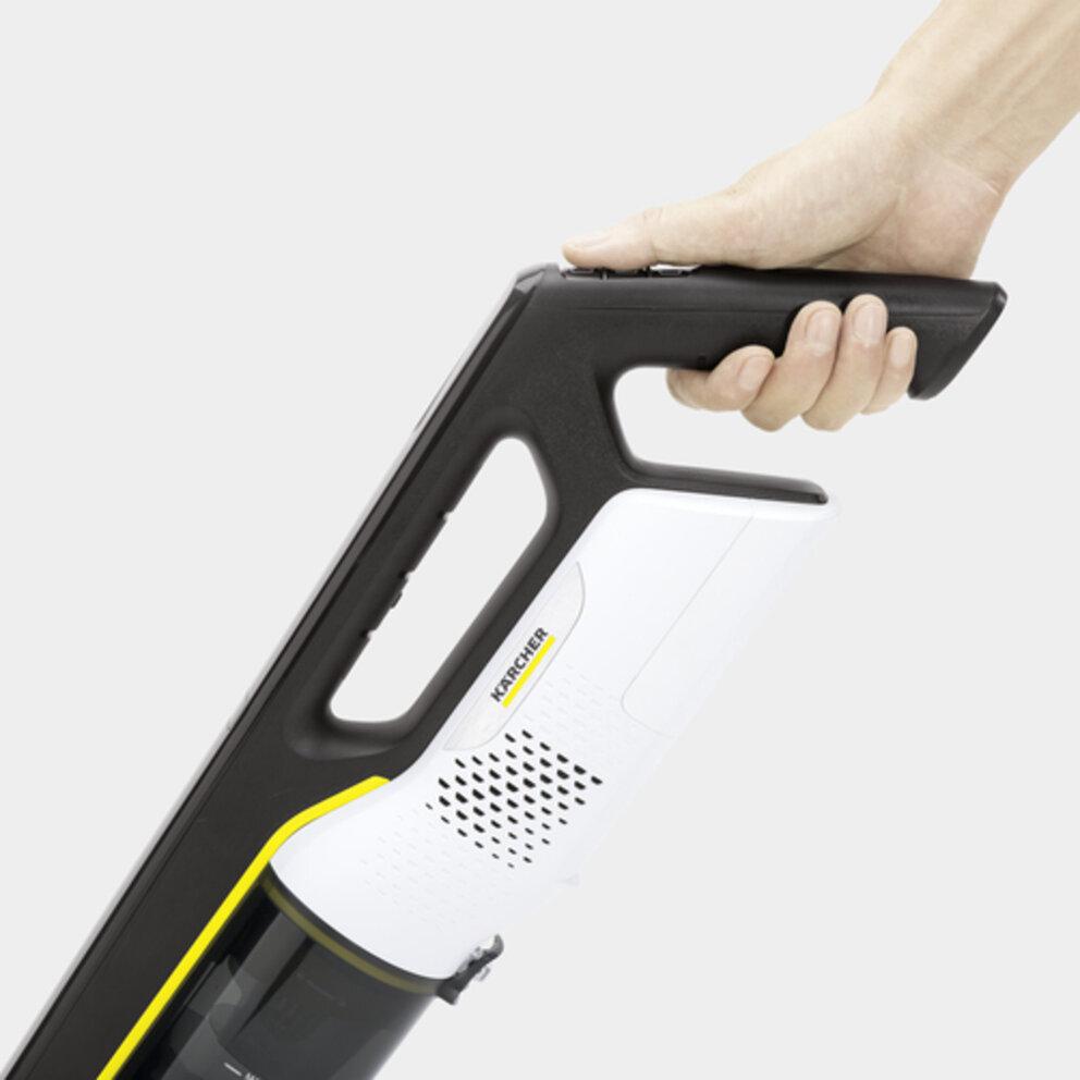 Handheld vacuum cleaner VC 4i Cordless (white): Convenient operation